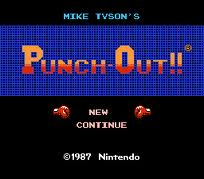 punch out title