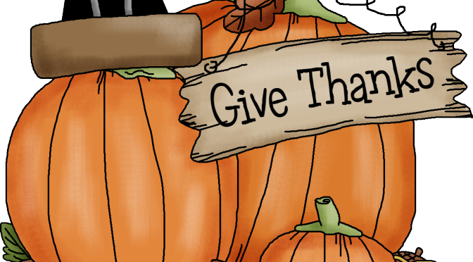 Quick Hits:  What I'm Thankful For