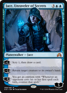 It scries, it draws, it bounces creatures.  It does what Jace does.  Is it a bit expensive?  Sure, but that's exactly what they said about JTMS when it released.