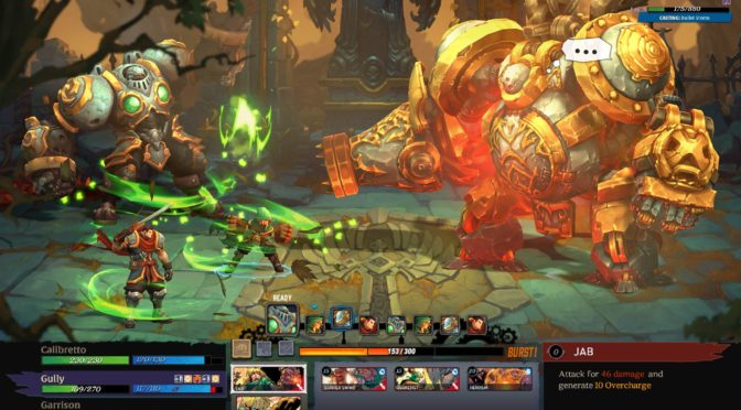 Currently Playing…Battle Chasers: Nightwar (PS4)