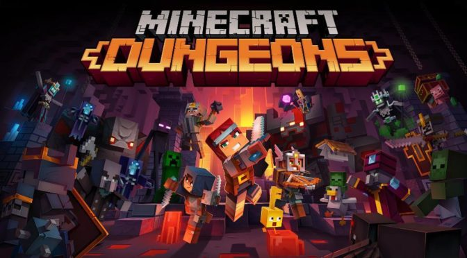 Minecraft Dungeons First Look