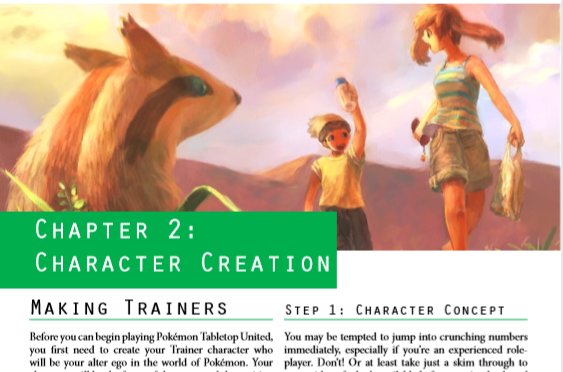 Pokemon Tabletop United RPG First Look