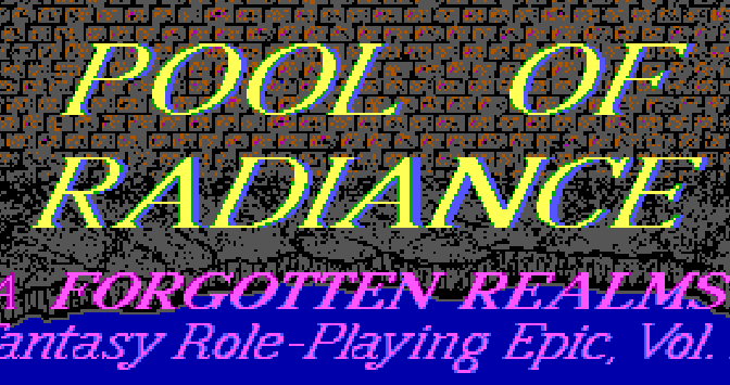 POOL OF RADIANCE: Noob's Way Back Machine
