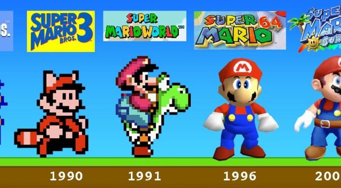 Noob's History with Mario