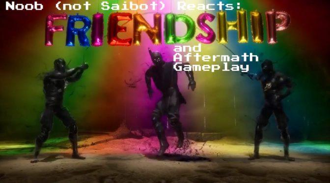 MK11 Aftermath Gameplay/Friendship Reaction